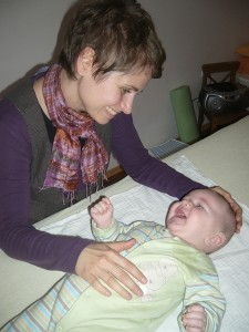 Physiotherapie Christine Schierer - Baby Cranio Sacral Therapie